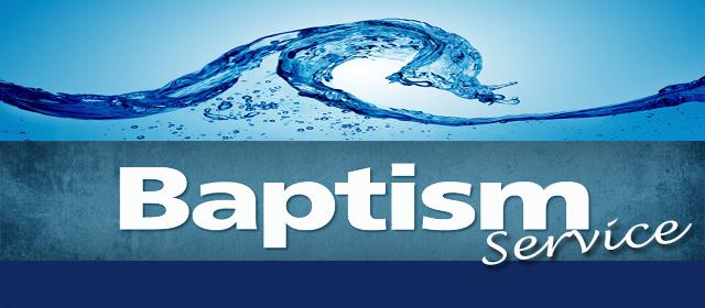 Baptism Service – June 30, 2013 – Cornerstone Church